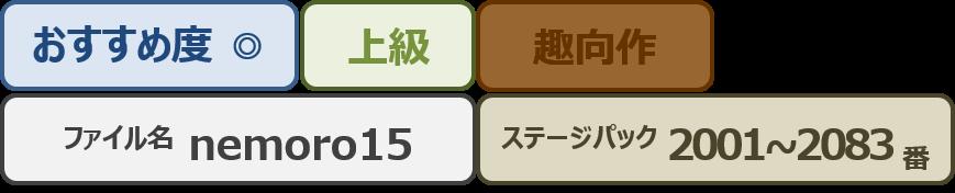 Nemoro15bar
