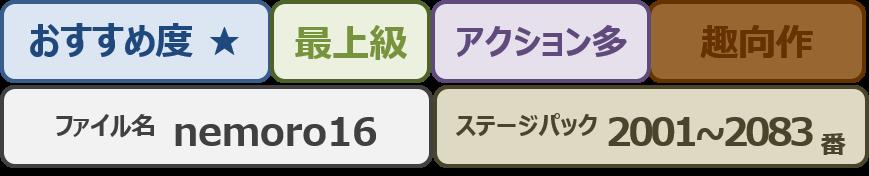 Nemoro16bar